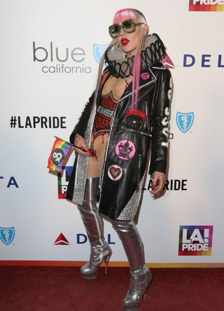 Brooke Candy at LA Pride Music Festival and Parade 2017
