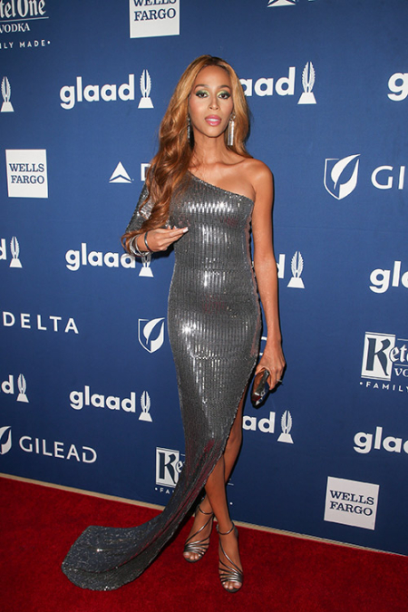 Isis King at 29th Annual GLAAD Media Awards