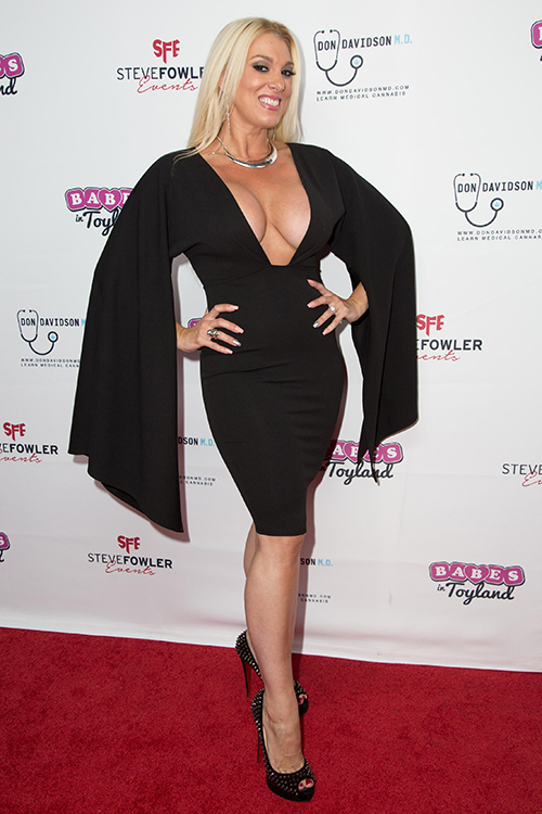Suzie Malone at 2nd Annual Babes in Toyland Charity 'Support Our Troops'