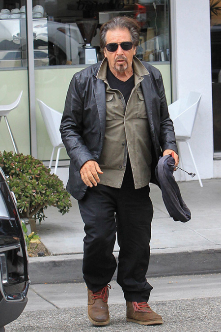Al Pacino Sighted in Los Angeles