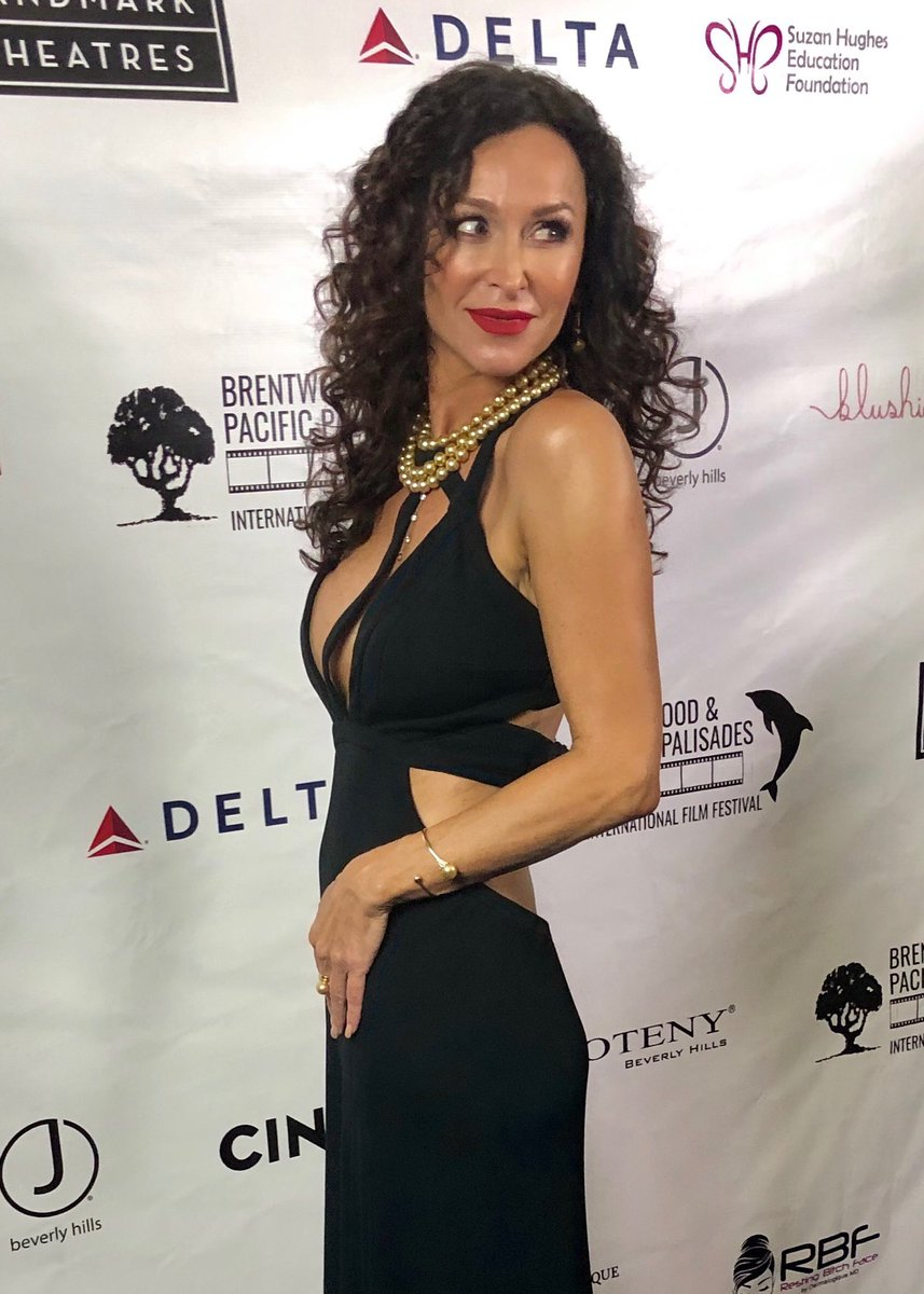 Sofia Milos in 2019 Brentwood & Pacific Palisades Film Festival