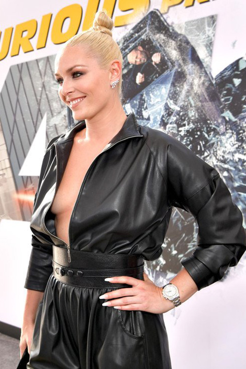 Lindsey Vonn at 'Fast & Furious Presents: Hobbs & Shaw' World Premiere