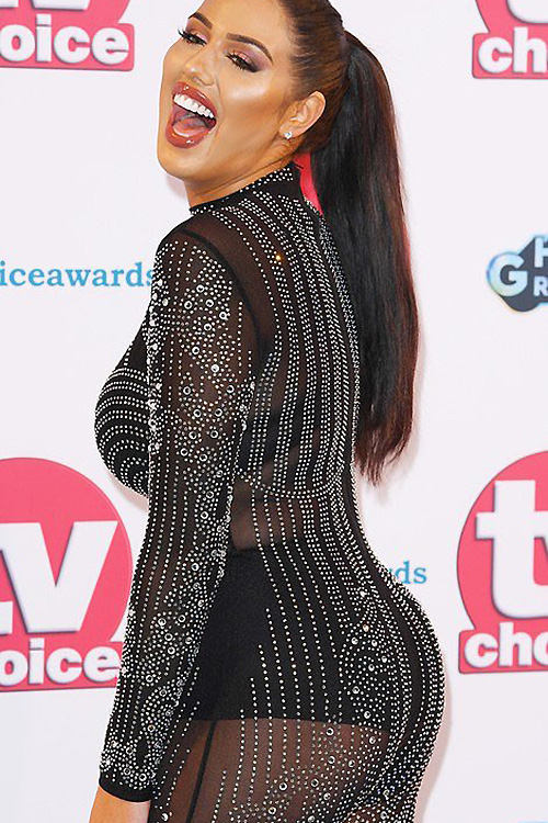 Anna Vakili at TV Choice Awards 2019