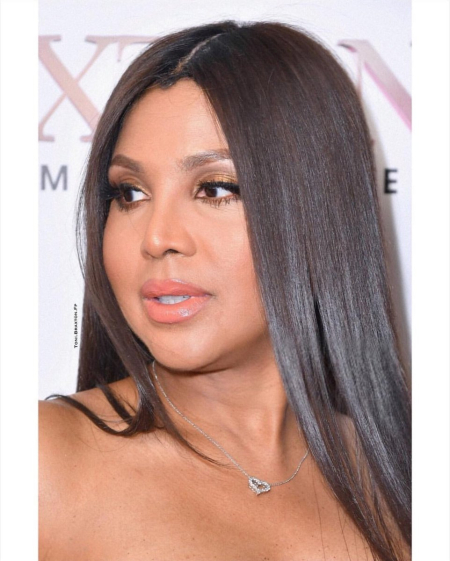 Toni Braxton at We TV's Braxton Family Values' TV Series Season 6 Premiere