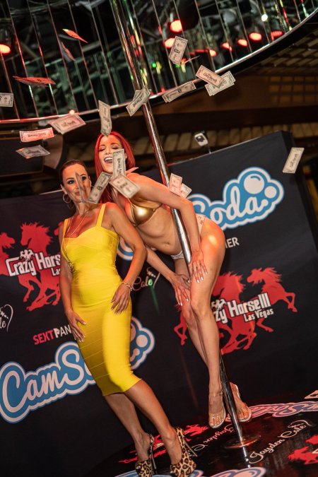 Lisa Ann and Jayden Cole Attempt Guinness World Record for 'Longest Pole Dance Marathon'