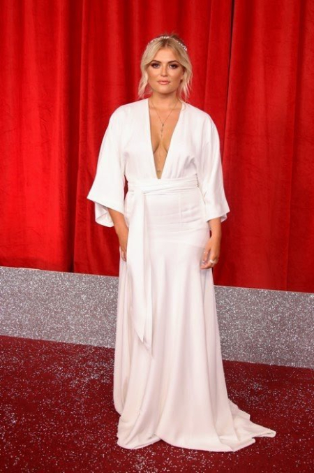 Lucy Fallon in The British Soap Awards 2019