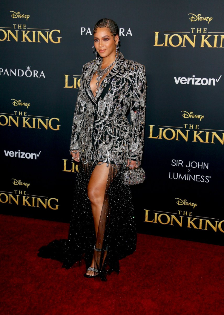 Beyonce at 'The Lion King' World Premiere